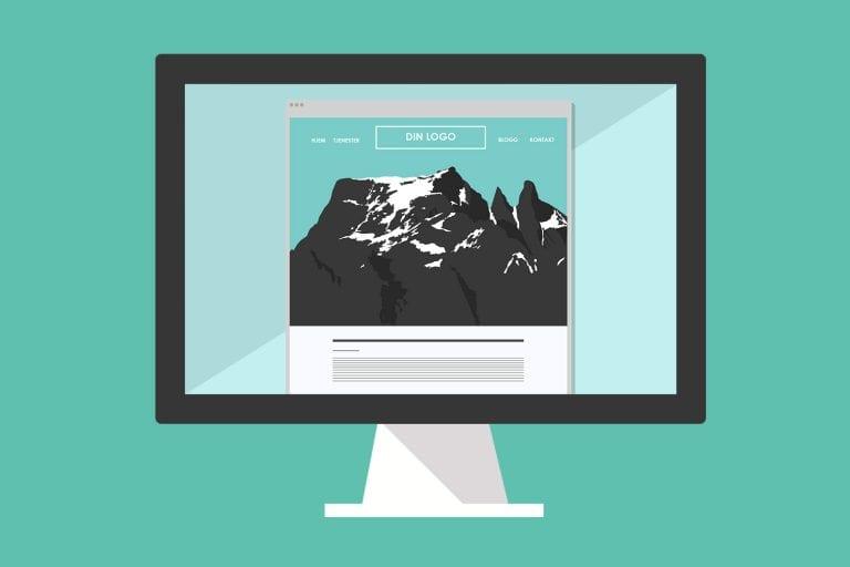 Nettside-illustrasjon