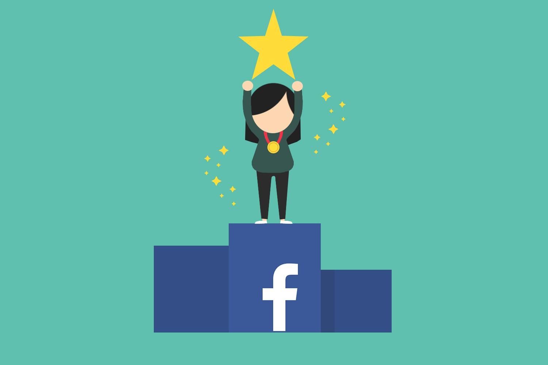 Suksess på Facebook
