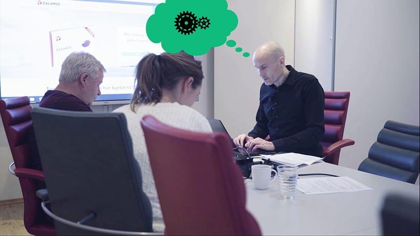 Nettrakett vlog episode 2 – Bli med i kundemøter