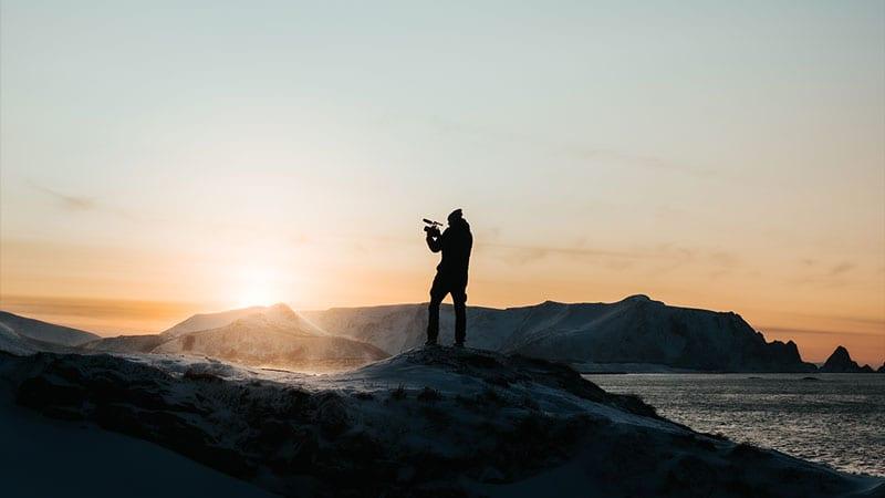 Nettrakett vlog episode 18: Til Andøya for innspilling av promofilm