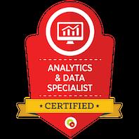 Certified Analytics & Data Specialist skilt