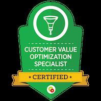 Certified Customer Value Optimization Specialist skilt