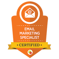 Certified Email Marketing Specialist skilt