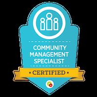 Community Management Specialist skilt