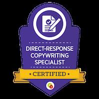 Direct-Response Copywriting Specialist skilt